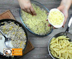 Sahne-Mais-Penne Rezept - Zubereitung Schritt 5