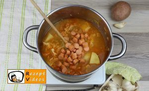 Würstchensuppe Rezept - Zubereitung Schritt 7