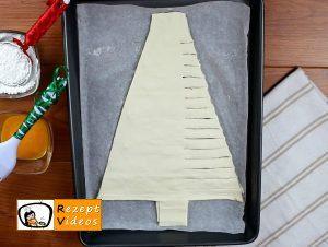 Weihnachtsbaum mit Haselnusscreme Rezept Zubereitung Schritt 4
