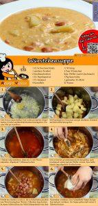 Würstchensuppe Rezept mit Video