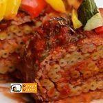 Makkaroni-Fleisch-Rolle