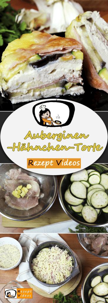 Auberginen-Hähnchen-Torte, Rezept Videos, schnelle Gerichte, einfache Rezepte, Rezeptideen, Hähnchenfleisch, Hähnchen Rezept, Geflügelrezepte, Mittagessen,