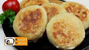 Mit Käse gefüllte Kartoffeltaler