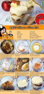Apfel-Birnen-Tiramisu Rezept mit Video