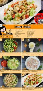 Caesar salad Rezept mit Video