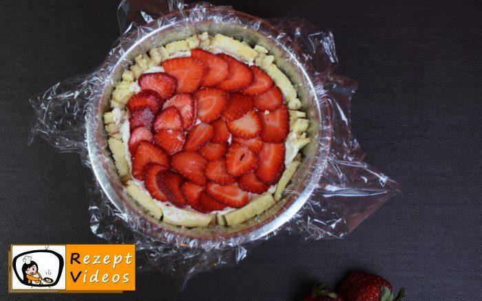 Erdbeer-Frischkäse-Charlotte Rezept- Zubereitung Schritt 12