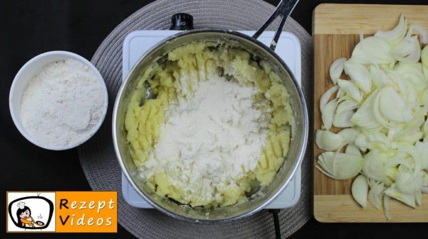 Kartoffelnockerln Rezept - Zubereitung Schritt 2