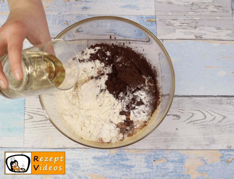 Kakao-Quark-Kuchen Rezept Zubereitung Schritt 3