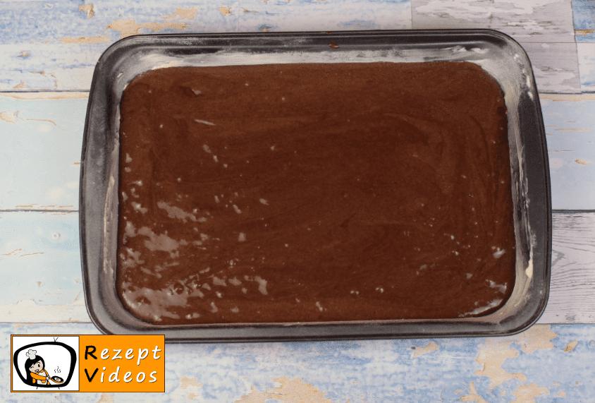 Kakao-Quark-Kuchen Rezept Zubereitung Schritt 5