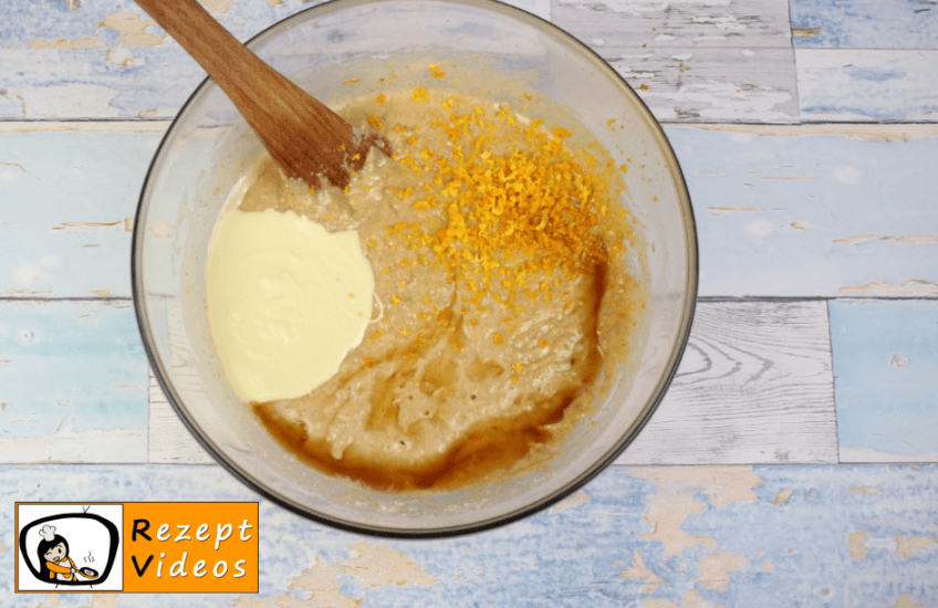 Karottentorte Rezept- Zubereitung Schritt 4