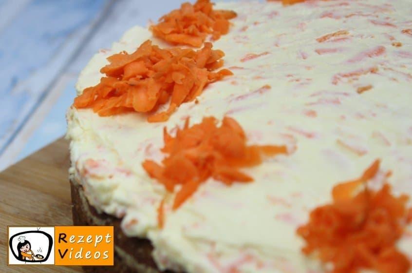 Karottentorte Rezept- Zubereitung Schritt 9