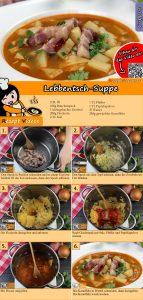 Lebbentsch-Suppe Rezept mit Video