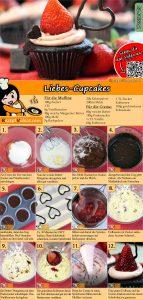 Liebes-Cupcakes Rezept mit Video