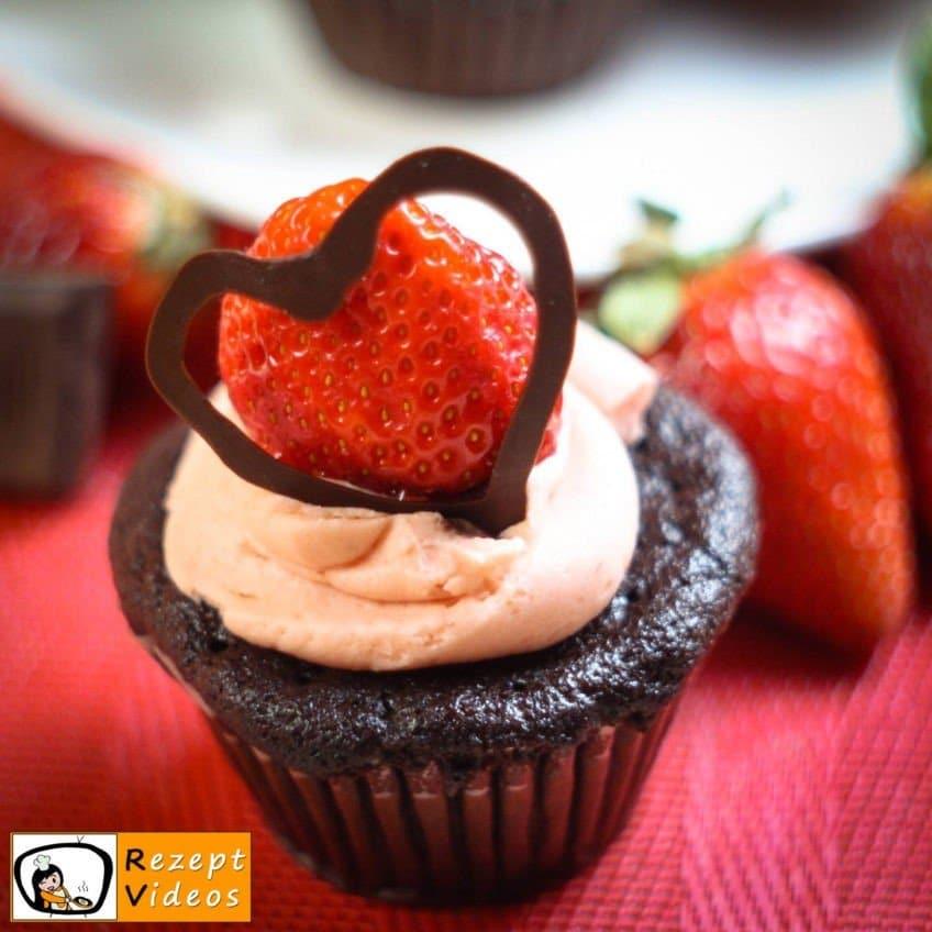 Liebes-Cupcakes- Rezept Videos