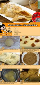 Marmeladen-Maultaschen Rezept mit Video
