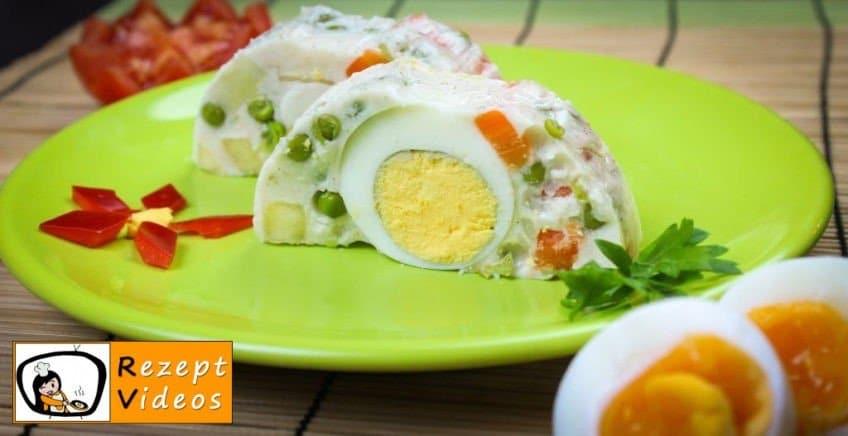Mayonnaise-Salat - Rezept Videos