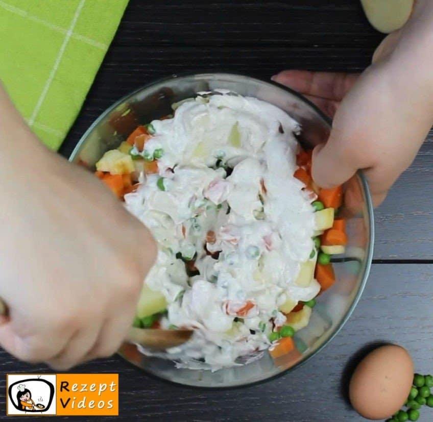 Mayonnaise-Salat Rezept Zubereitung Schritt 3