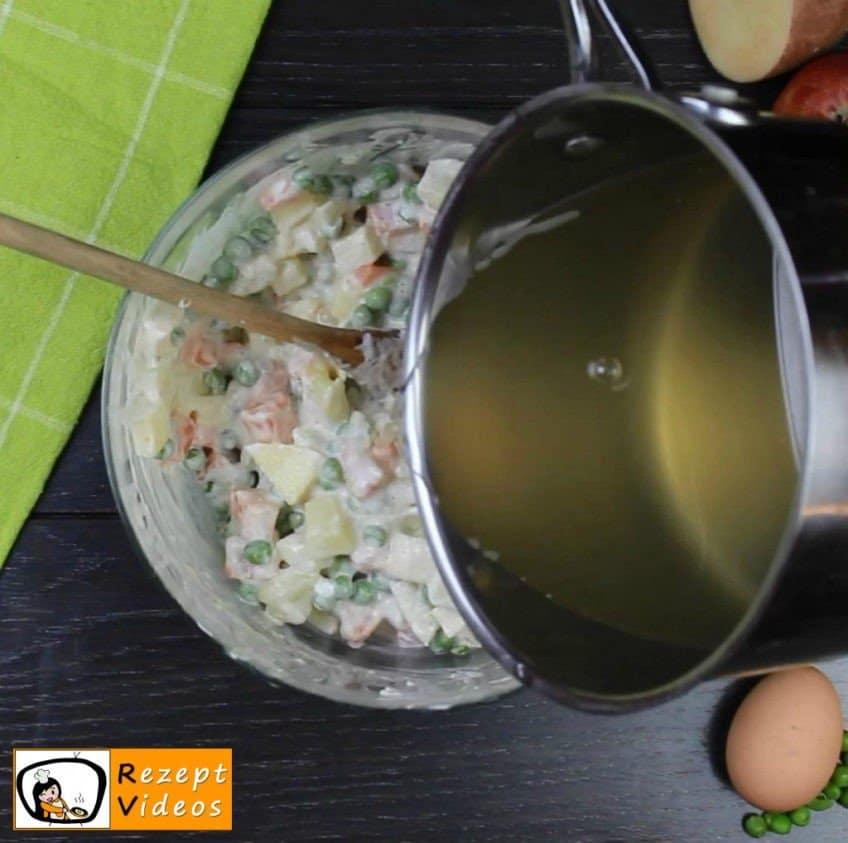 Mayonnaise-Salat Rezept Zubereitung Schritt 5