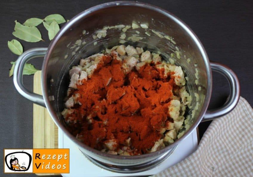 Szegediner Gulasch Rezept Zubereitung Schritt 4