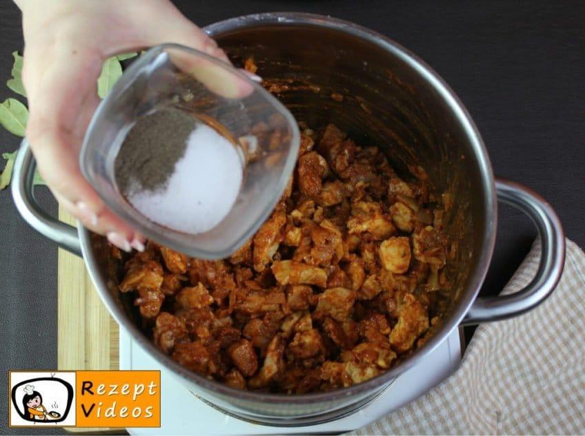 Szegediner Gulasch Rezept Zubereitung Schritt 5