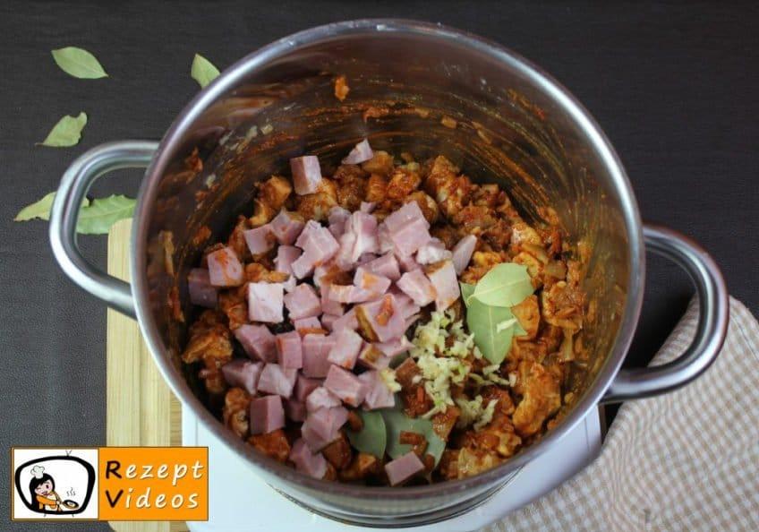 Szegediner Gulasch Rezept Zubereitung Schritt 6