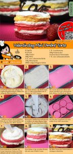 Valentinstag Mini Ombré Torte Rezept mit Video