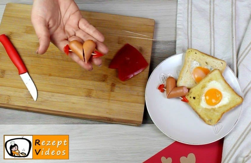 Valentinstagsfrühstück Rezept - Zubereitung Schritt 3