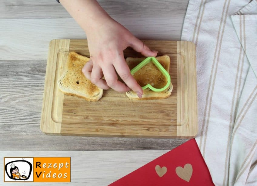 Valentinstagsfrühstück Rezept - Zubereitung Schritt 7