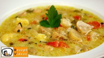 Estragon-Ragout-Suppe