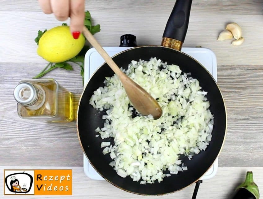 Auberginencreme Rezept Zubereitung Schritt 2
