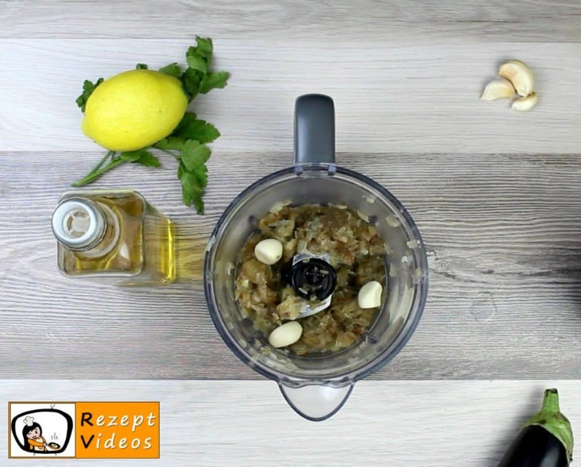 Auberginencreme Rezept Zubereitung Schritt 4
