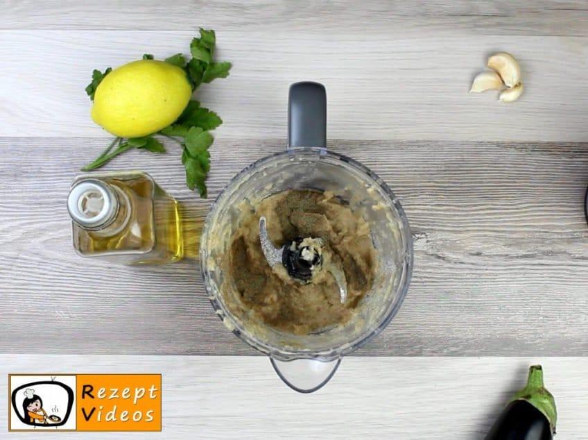 Auberginencreme Rezept Zubereitung Schritt 5