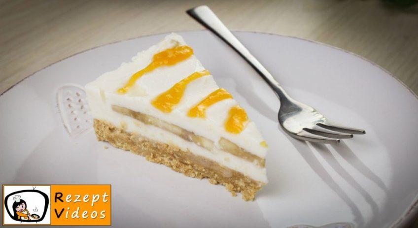 Bananen-Joghurt-Torte - Rezept Videos