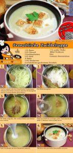 Französische Zwiebelsuppe Rezept mit Video