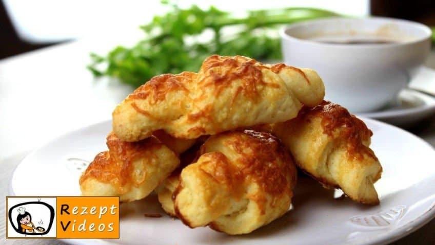 Käsecroissant - Rezept Videos