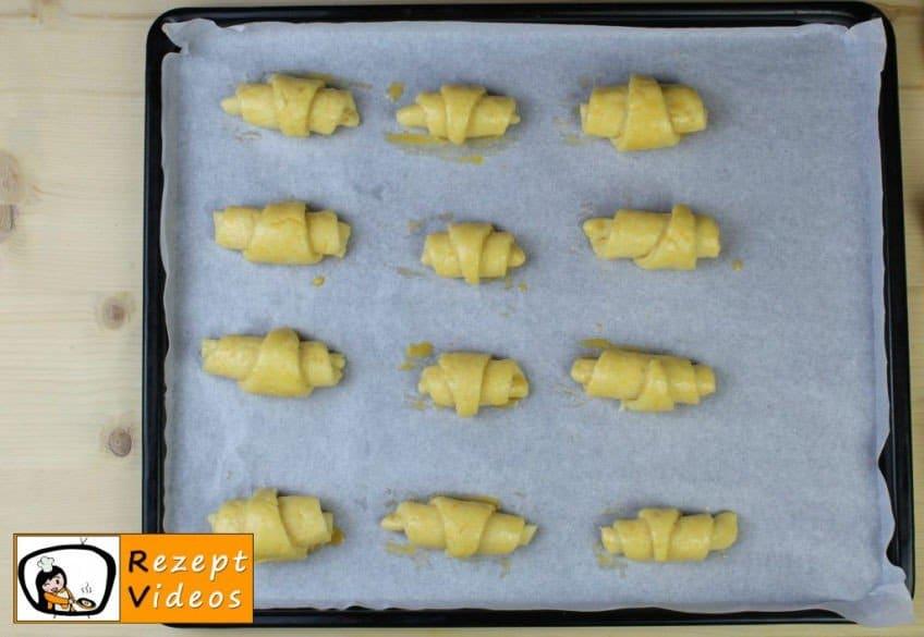 Käsecroissant Rezept - Zubereitung Schritt 8