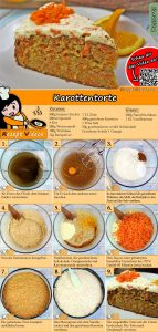 Karottentorte Rezept mit Video
