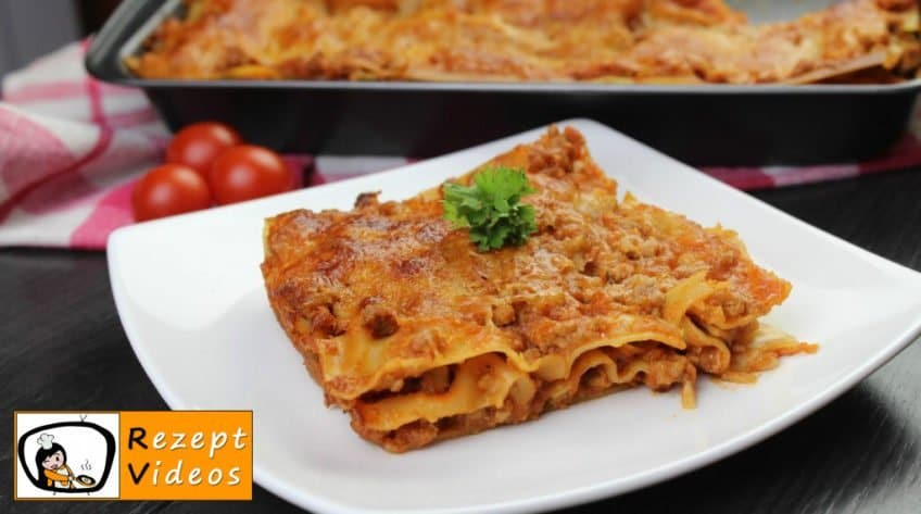 Lasagne - Rezept Videos