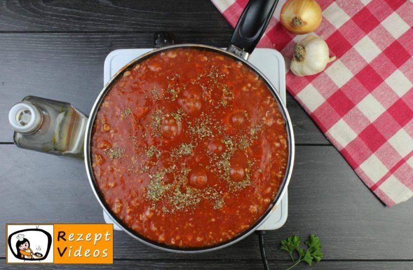 Lasagne Rezept - Zubereitung Schritt 3