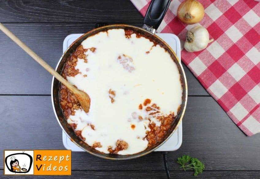 Lasagne Rezept - Zubereitung Schritt 5