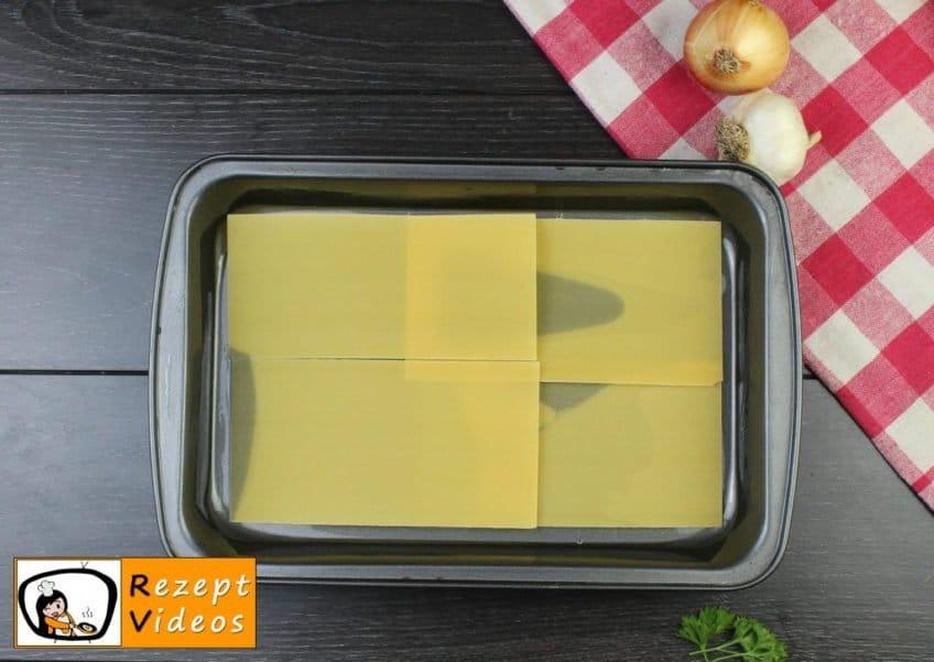 Lasagne Rezept - Zubereitung Schritt 6
