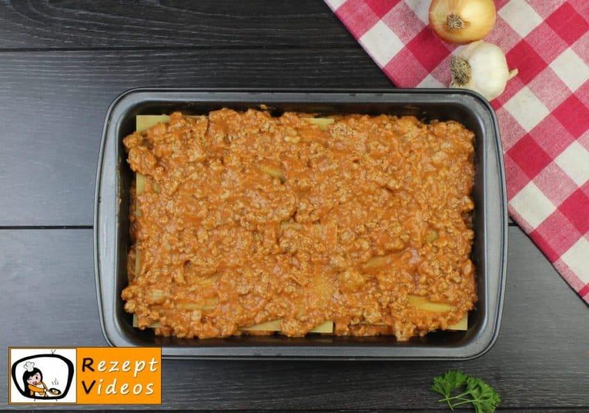 Lasagne Rezept - Zubereitung Schritt 7