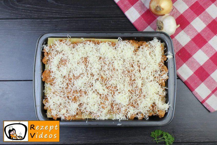 Lasagne Rezept - Zubereitung Schritt 8
