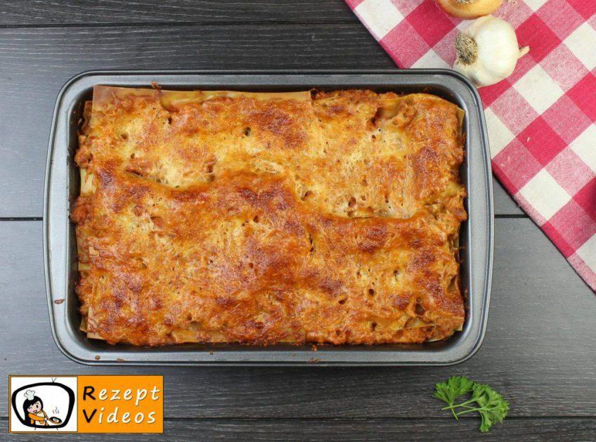 Lasagne Rezept - Zubereitung Schritt 9