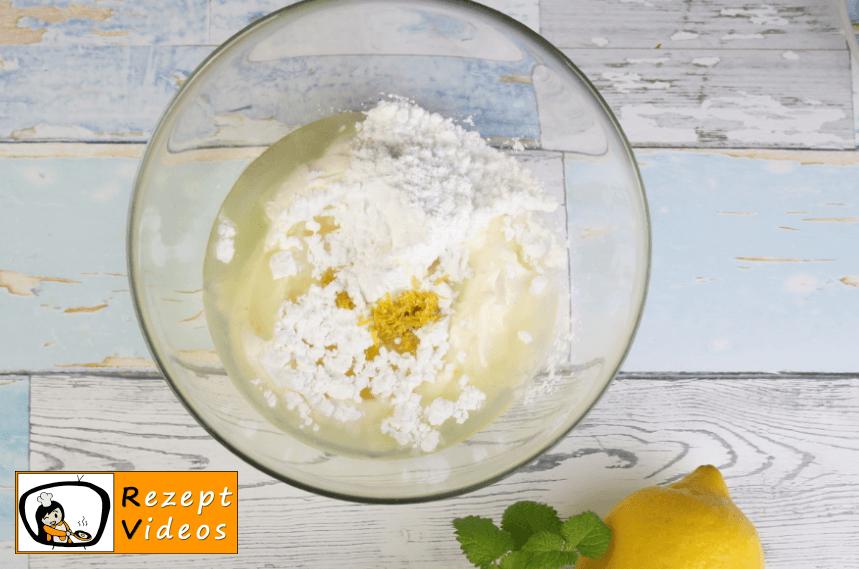 Mascarpone-Zitronentorte Rezept - Zubereitung Schritt 5