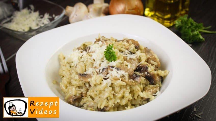 Risotto mit gebratenen Pilzen - Rezept Videos