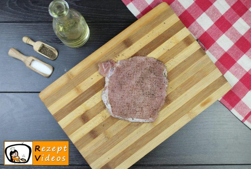 Schnitzel Holstein Rezept - Zubereitung Schritt 2