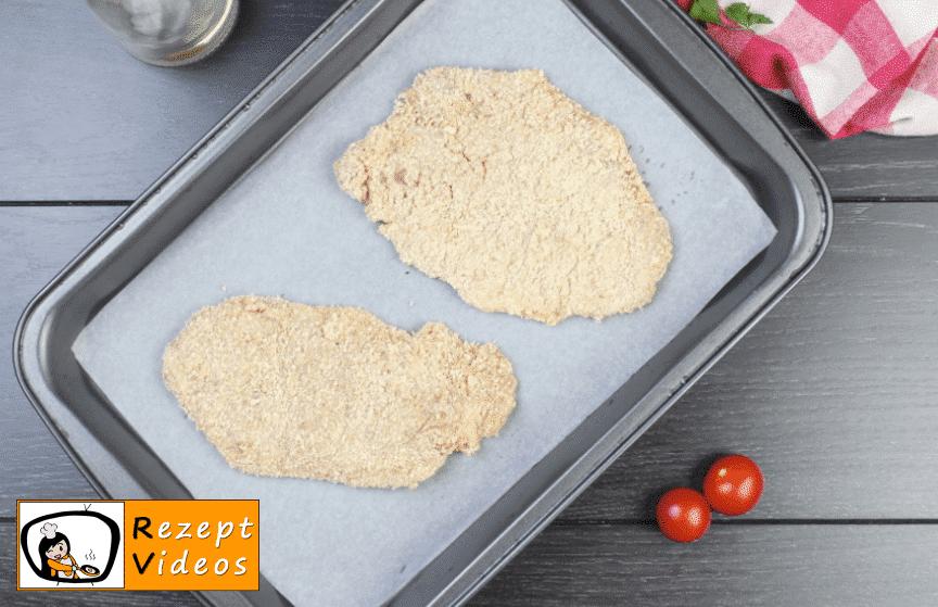 Schnitzel aus dem Ofen Rezept - Zubereitung Schritt 3