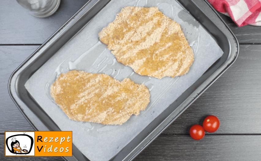 Schnitzel aus dem Ofen Rezept - Zubereitung Schritt 4