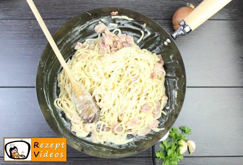 Spaghetti Carbonara Rezept - Pasta Rezepte - Zubereitung Schritt 6